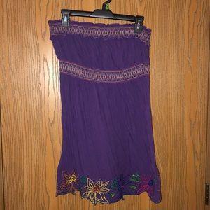 Rue21 Large Purple Strapless Sundress